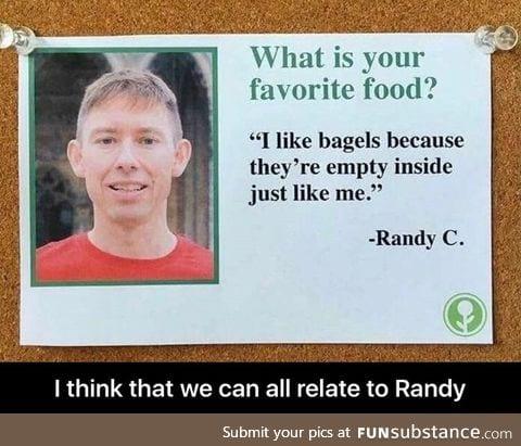 Randy is my guru
