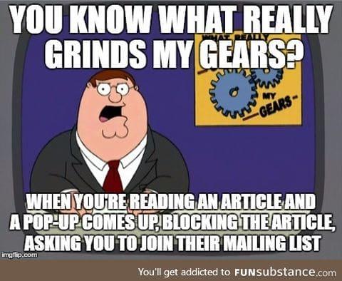 Screw you website