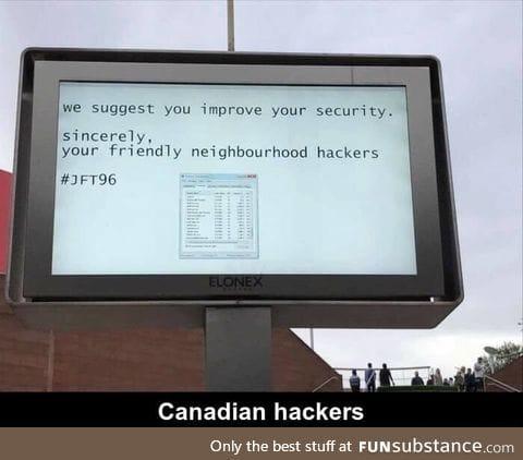 Friendly hackers