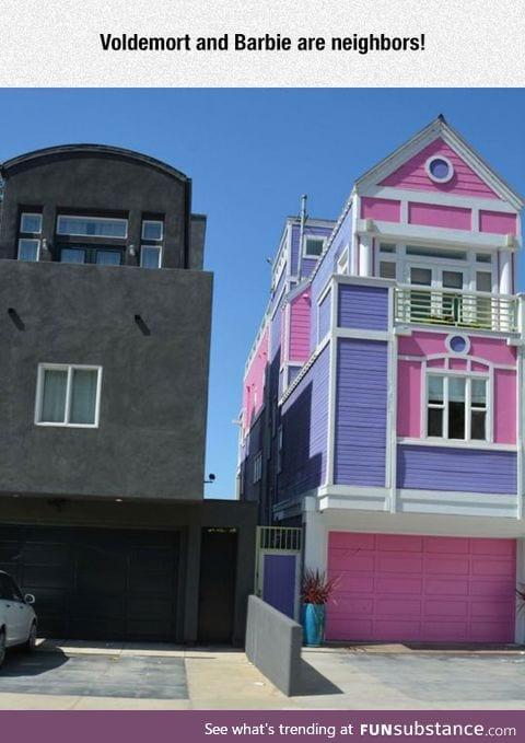 Unconventional neighbors