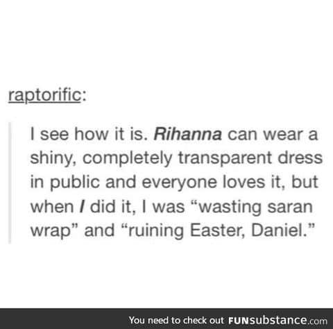 Damn Daniel, back at it again f*cking Easter up