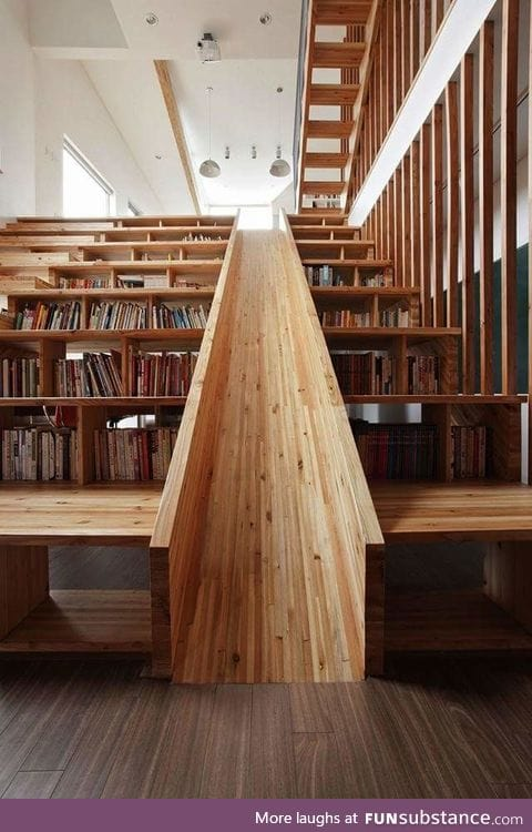 The library I dreamt of as a kid