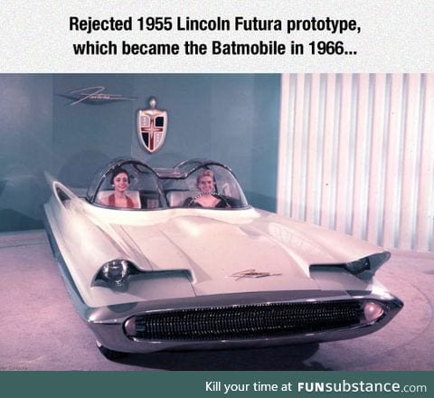 The origin of the batmobile
