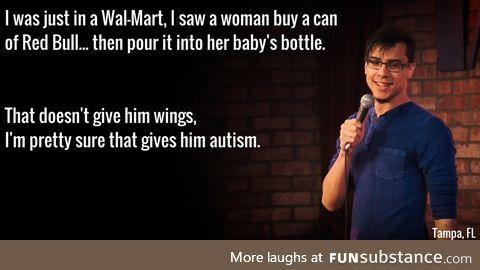 Red Bull Jr., it's for kids!