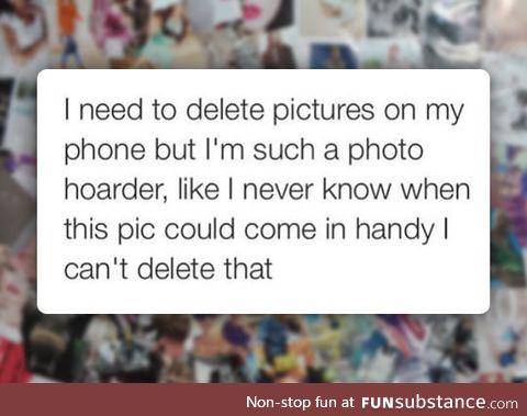 Photo hoarder