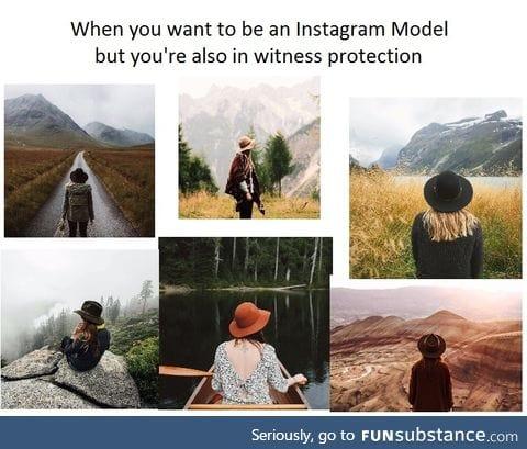 Instagram witness protection