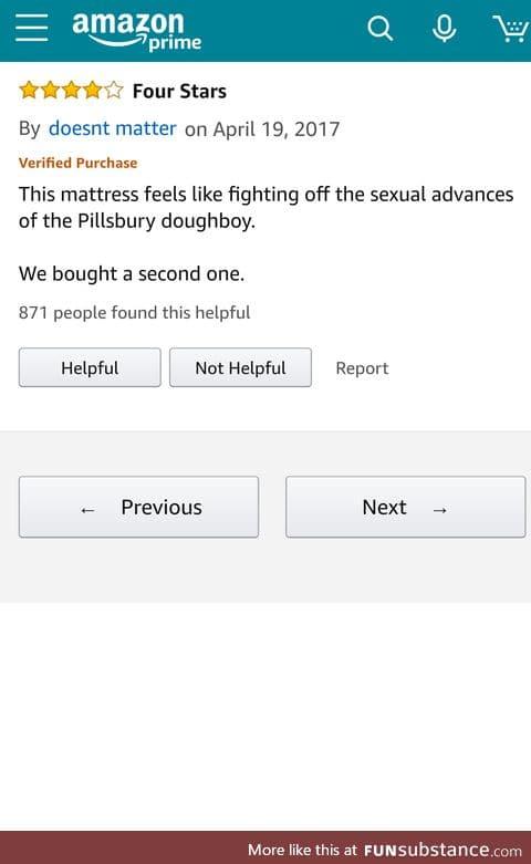 Shopping for mattress online