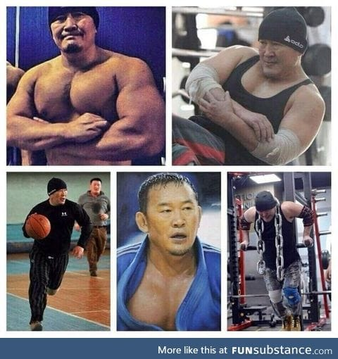 The new President of Mongolia, Tsakhiagiin Elbegdorj