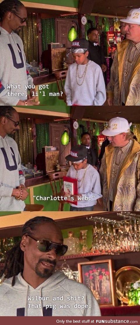 Snoop knows
