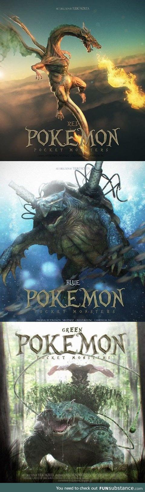 Real life Pokemon movie