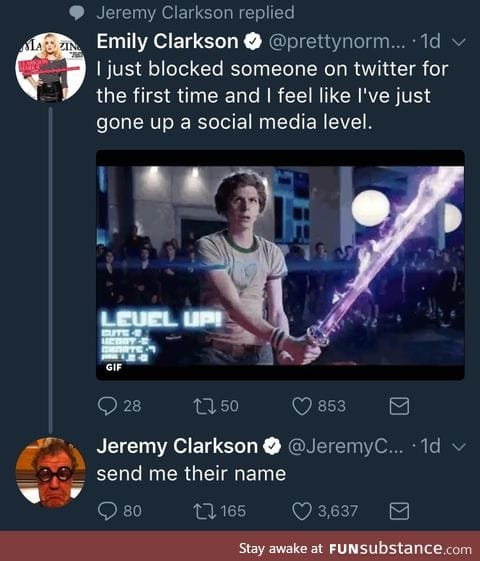 Jeremy Clarkson being a good dad