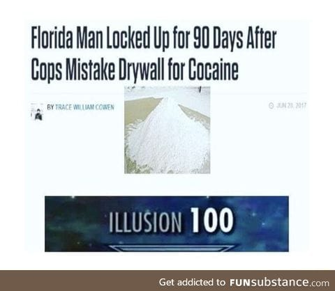 Florida man was wrongly accused this time