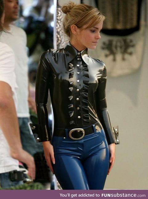 Emma Watson's Latex outfit