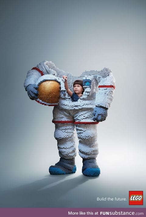 I really like this Lego ad