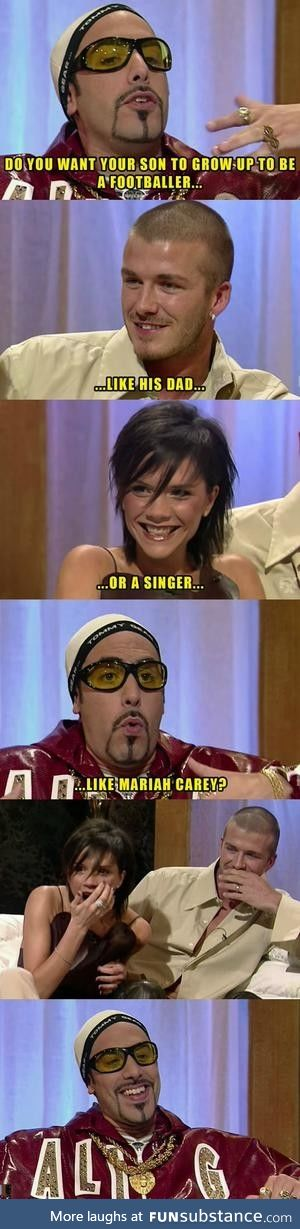 Ali G got no chill ....East side is the best