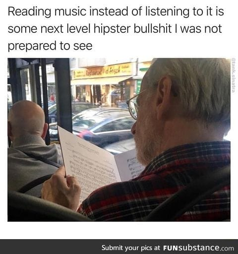 He can hear it in his head