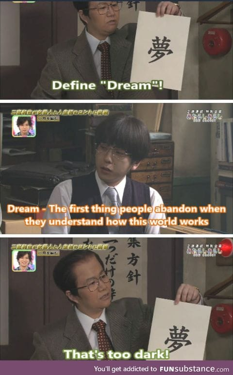 Dream: A false reality that will never happen