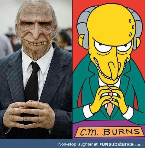 Mr. Burns cosplay