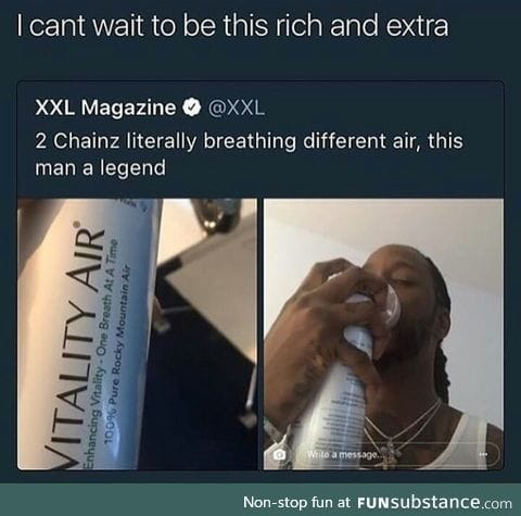 When you start paying for air