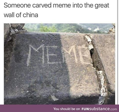 Meme will go down in history
