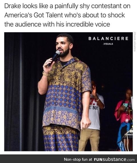Prepared to be shocked by his performance