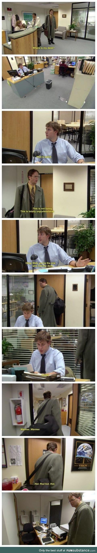 Where did the desk go