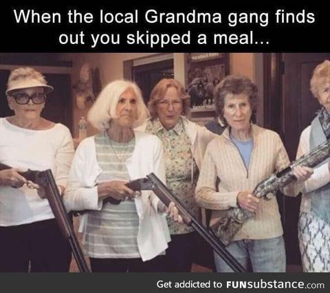 Grandma gang