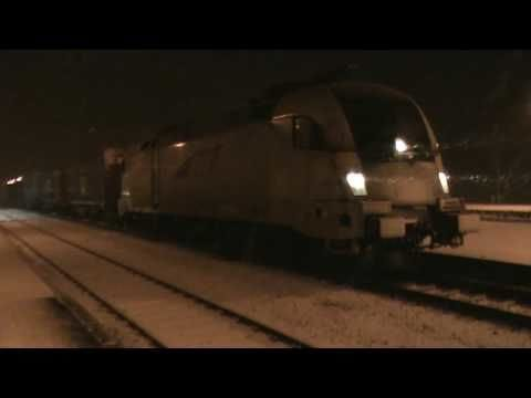 The incredible sound of a German electric train starting up