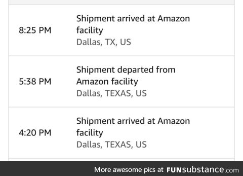 Wow great job Amazon. You really did it