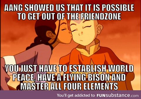 After all, it is the 'legend' of Aang