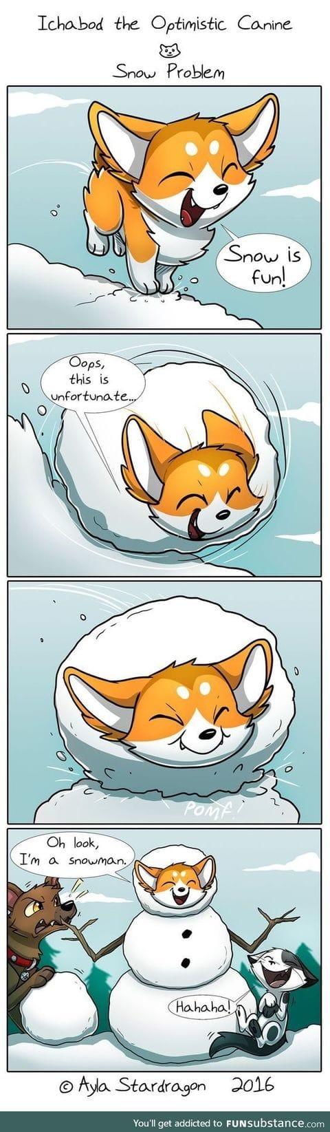 Puppy? Fox? idk it looks cute