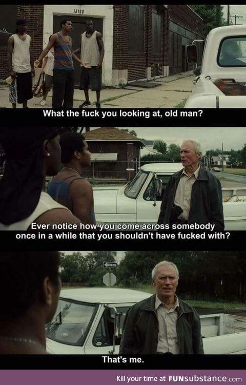Clint badass eastwood