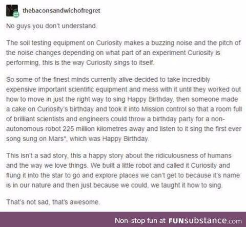 Happy birthday Curiosity