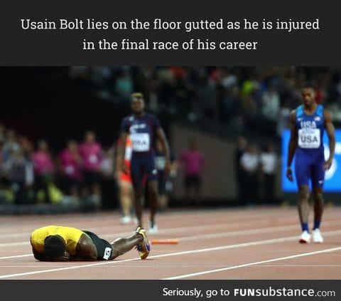 Usain Bolt last race