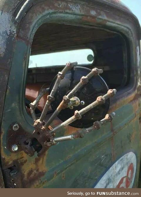 Broken side mirror fix
