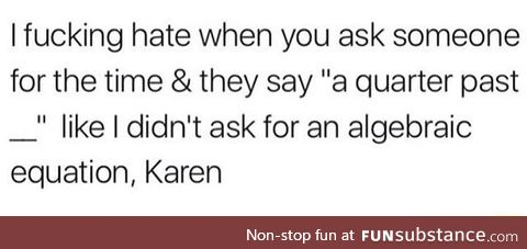 I'm no math genius