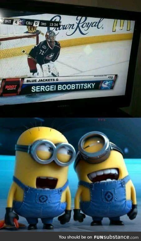 Sergei boobtitsky   I like this man.