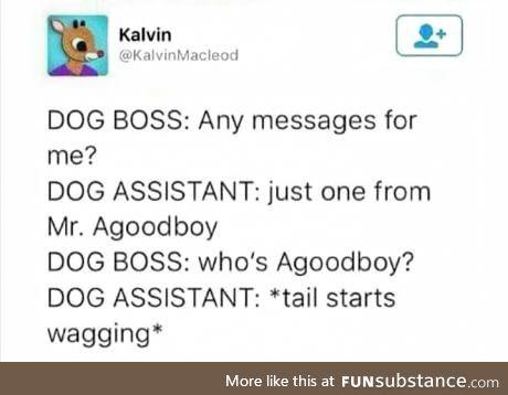 Agoodboy