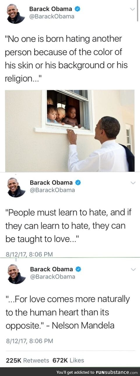 If they can learn to hate