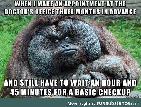 Salty Orangutan on: Doctors