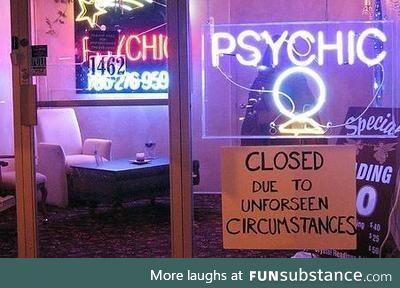 'unforseen' circumstances