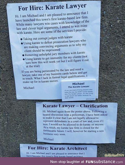 Karate Lawyer