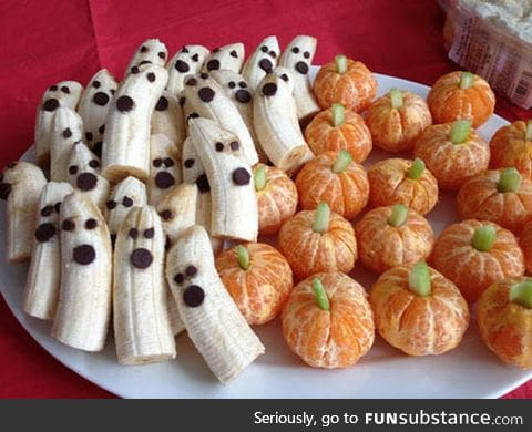 Definitely doing it for halloween: Ghosts and pumpkins