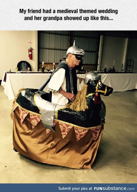 Medieval themed wedding