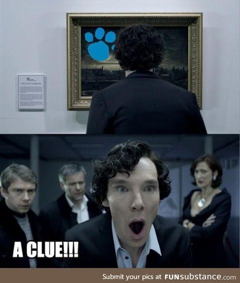 Sherlock and Blues Clues