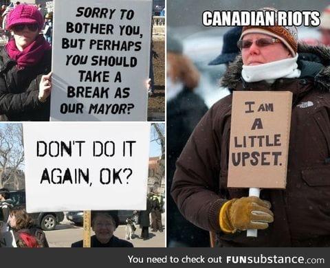 Canadian riots