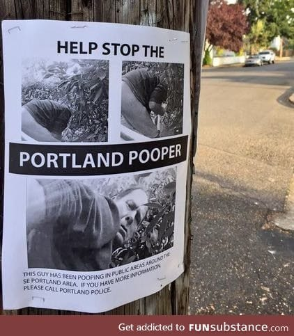 I think Portland is becoming the next Florida
