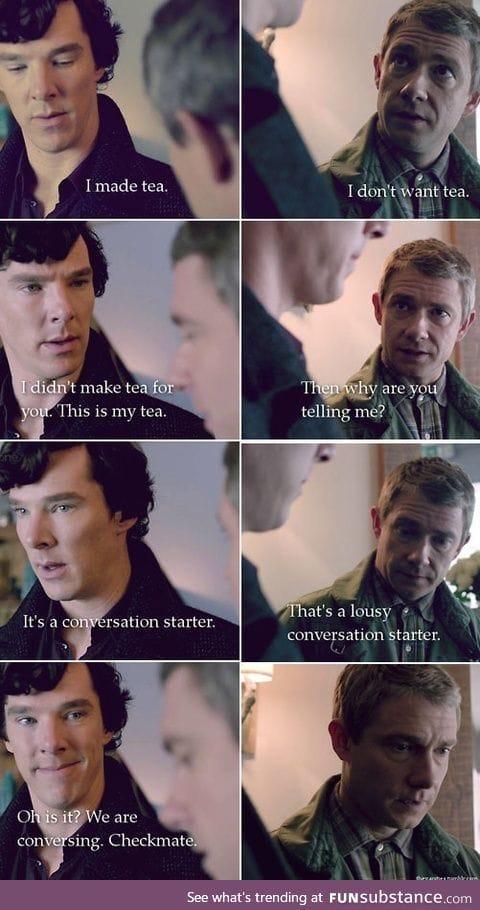 Witty Sherlock