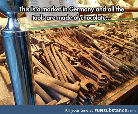 Germans, even their sweets are useful
