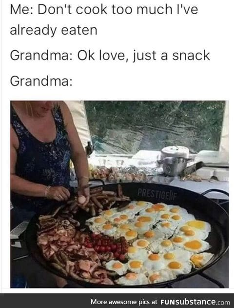 Oh Grandma, you're so silly